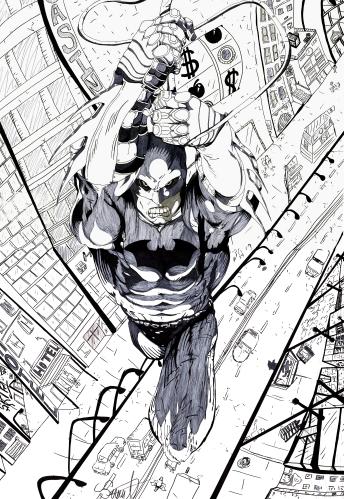 Batman A1 poster