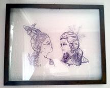 Devil and Angel portrait